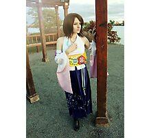 Final Fantasy X Summoner Yuna Cosplay Photographic Print