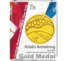 Kristin Armstrong Gold Medal Olympic Rio 2016 iPad Case/Skin