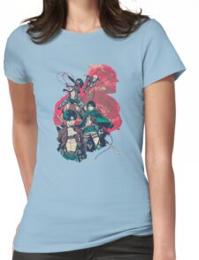 Advancing Giants Womens Fitted T-Shirt
