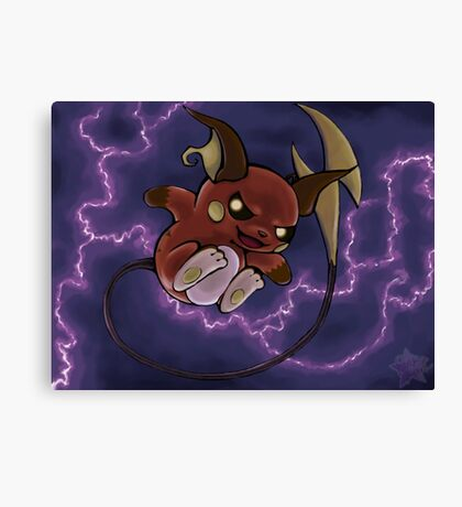 pokemon custom riachu Canvas Print