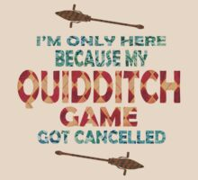 Rather Be At Quidditch by KatArtDesigns