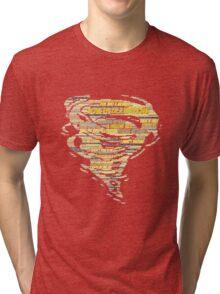 Hurricane Lyric Silhouette Tri-blend T-Shirt
