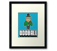 ODD BALL Framed Print