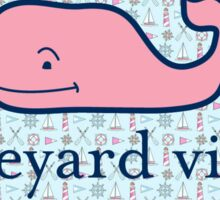 Vineyard Vines Whale Sticker Sticker