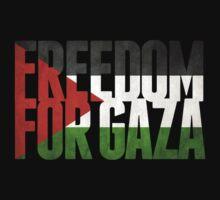Freedom For Gaza by Greg B
