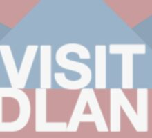 Visit Badlands Sticker