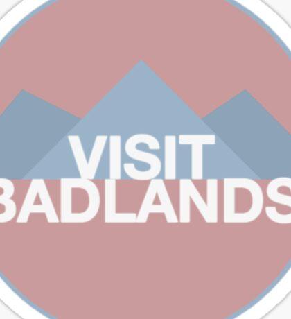Visit Badlands Sticker