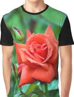 Dolly Parton Red Rose Graphic T-Shirt
