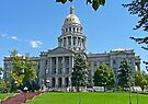 Capitol Building, Denver, Colorado, USA by Margaret  Hyde