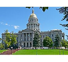 Capitol Building, Denver, Colorado, USA Photographic Print