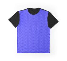 Abstraction #038 Blue Pattern Graphic T-Shirt
