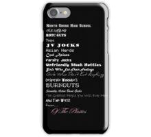 Beware of The Plastics iPhone Case/Skin
