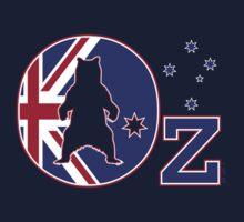 Oz Flag - Bear logo by BearYourArt