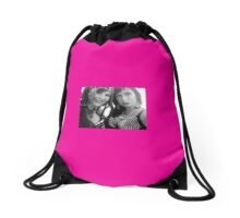 Fire and Ice Drawstring Bag