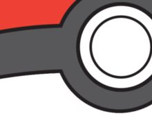A Simple Pokeball for simple PokeTrainers Sticker