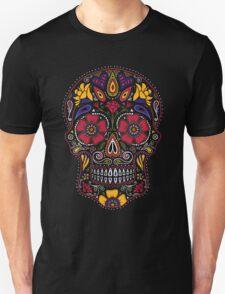 Day of the Dead Sugar Skull Dark Unisex T-Shirt