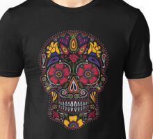 Day of the Dead Sugar Skull Dark Unisex T-Shirt