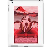 Cinnabar Island iPad Case/Skin