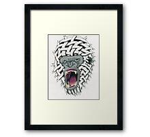 Gorilla on Steroids Framed Print