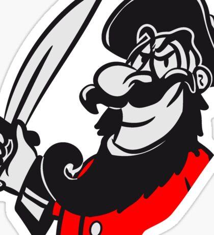 Pirat cool degen witzig  Sticker