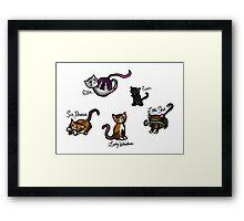 Til Death Kittens Framed Print