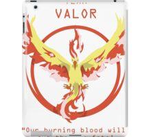 Team Valor Slogan T iPad Case/Skin