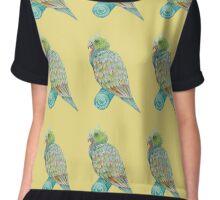 summer time bird  Chiffon Top