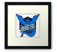 Team Mystic Sports T Framed Print