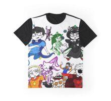 Homestuck Beta God Tiers Graphic T-Shirt