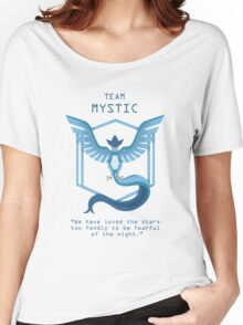 Team Mystic Slogan T Women's Relaxed Fit T-Shirt