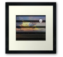 What is Reality?  Fun UFO image. Framed Print
