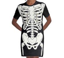 Bones Graphic T-Shirt Dress