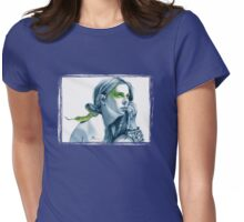 Snake Totem Womens Fitted T-Shirt