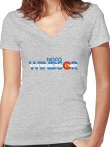 Windsor of NOCO Women's Fitted V-Neck T-Shirt