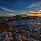 Bare Island Sunset by yolanda