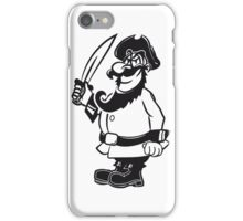 Pirat cool degen  iPhone Case/Skin