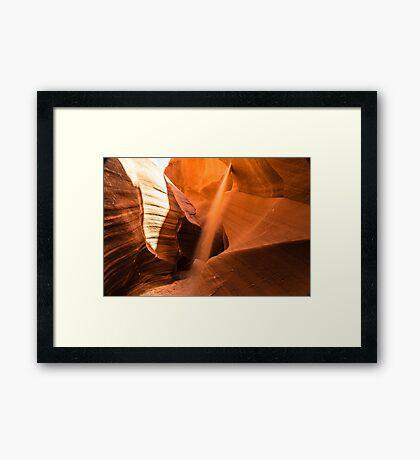 Tranquil Sand Framed Print