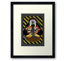 Geeky and Dangerous Poster Framed Print