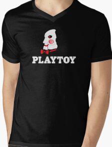 Playtoy Mens V-Neck T-Shirt