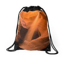 Tranquil Sand Drawstring Bag