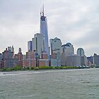 New York Skyline, USA by Margaret  Hyde