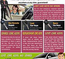 Locked Keys in Car by LostCarKey