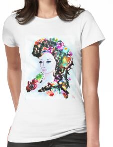 Queen of Nymphs Womens Fitted T-Shirt
