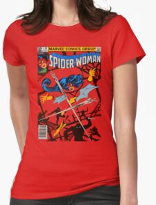 Spider-Woman Womens Fitted T-Shirt