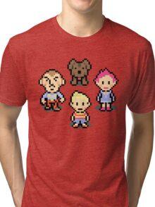 Mother 3 Crew Tri-blend T-Shirt