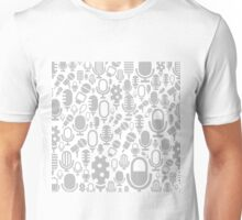 Microphone a background Unisex T-Shirt