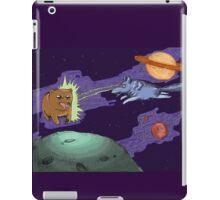 Space Wolf Runs Rampant iPad Case/Skin