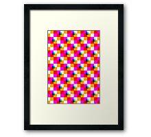 Pop Pixel Framed Print