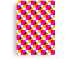 Pop Pixel Canvas Print