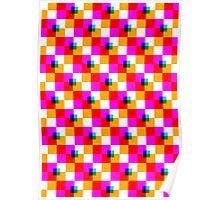 Pop Pixel Poster